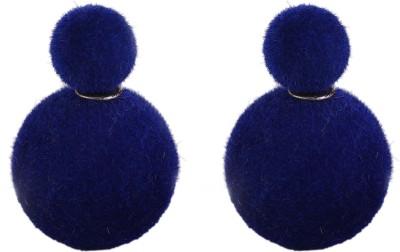 Jewel Touch Royal Velvet Touch Alloy Stud Earring