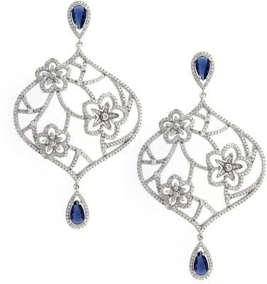 Treta Elegant Sterling Silver Drop Earring