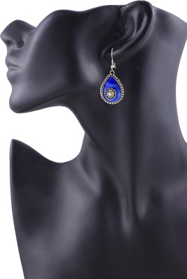 Arittra Antique Style German Silver Dangle Earring
