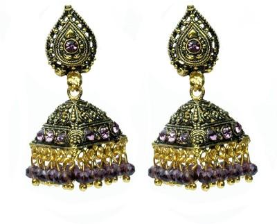 Womanwa Traditional Triangle Style Metal Jhumki Earring
