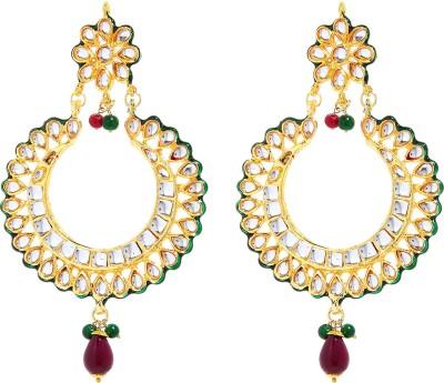Nazakat J09A8325 Alloy Chandbali Earring