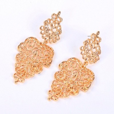 Stile Imitation Fashion Acrylic Dangle Earring
