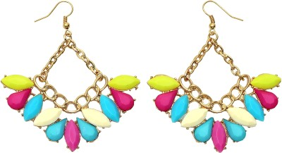 Jewel Touch Nautical Hanging Alloy Chandelier Earring