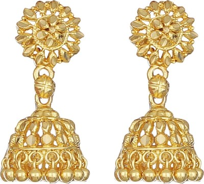 Match And Catch Spring Sparkle Acrylic Jhumki Earring