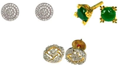 Rashi Jewellery Sunshine Combo Cubic Zirconia Alloy Earring Set