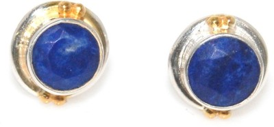 Arvino Golden Touch Lapis Lazuli Sterling Silver Stud Earring