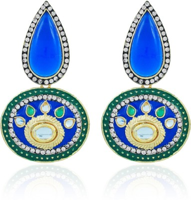 BoBell Snazzy Maharani Traditional Copper Drop Earring