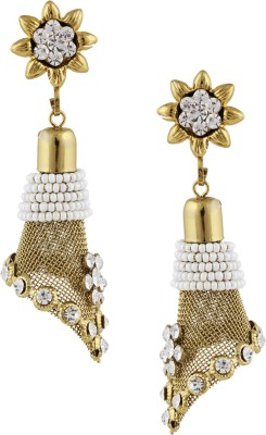 Castle Street Stylish Ethnic Gold Alloy Jhumki Earring