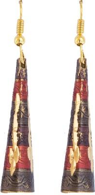 6 Lotus EXOTIC Alloy Dangle Earring