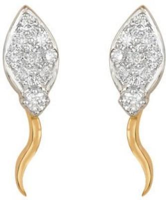 VelvetCase Kite Shaped Earrings Gold Stud Earring