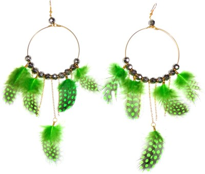 Adimani Cseilow Feather Alloy Dangle Earring