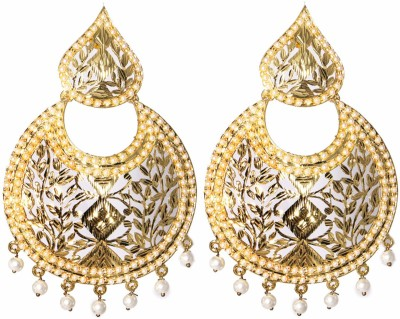 LE Judau Alloy Chandbali Earring