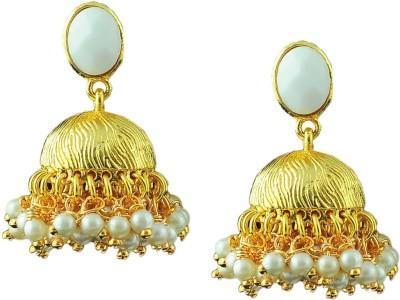 Maalyaa New Versions Brass, Copper Jhumki Earring
