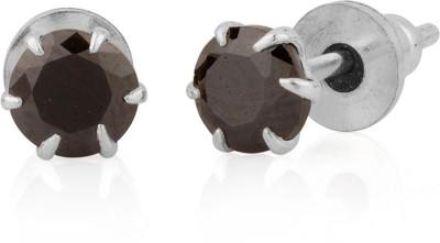 D&D Cubic Zirconia Silver Stud Earring