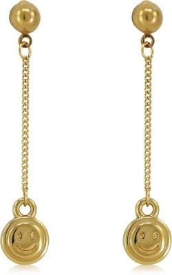 Fab Fashion Smile Design Alloy Dangle Earring