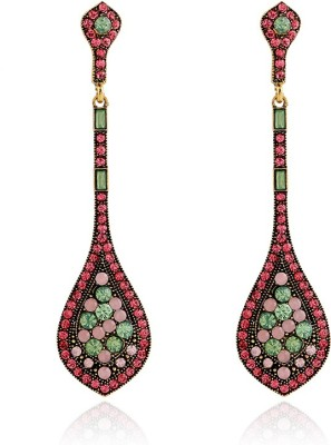 Insia Ziba Rose Alloy Drop Earring