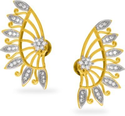 Fashionage Ethnic Charm Alloy Cuff Earring