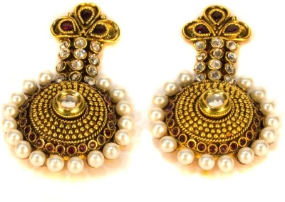Amarsons Pearls Alloy Drop Earring