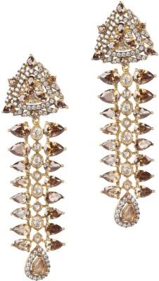 Mehtaphor Leena_3 Brass Drop Earring