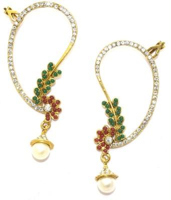 Aarnaa Designer Gold Plated Alloy Drop Earring