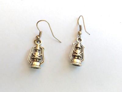 SrinidhiHandiCreations Lantern Metal Dangle Earring