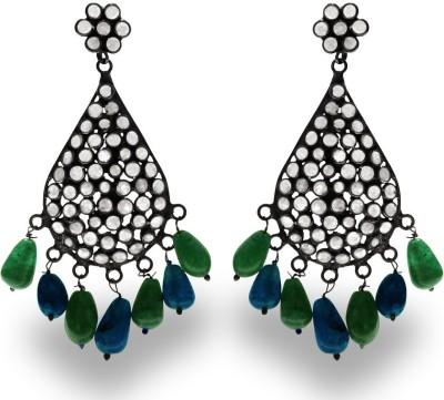 SuvidhaArts Diva Fashion Brass Drop Earring