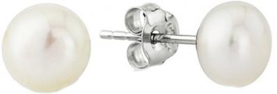 Vummidi Bangaru Chetty & Sons Pearl Metal Stud Earring