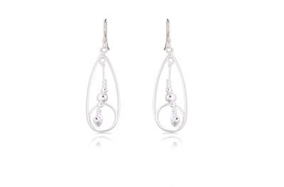 Chandrika Pearls 925 Sterling Silver Dangle Earring