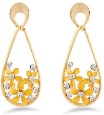 Jazz Jewellery Fashion Jewelrly Flower Design New Jazz Jewellery Drop Earrings Alloy Drop Earring