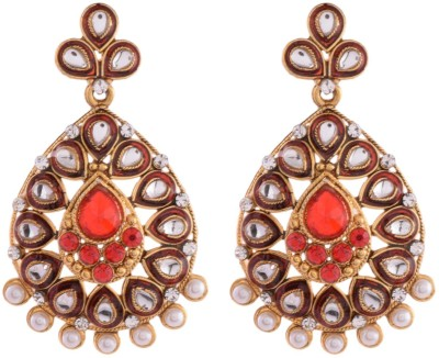 Ganapathy Gems 4885 Metal Drop Earring