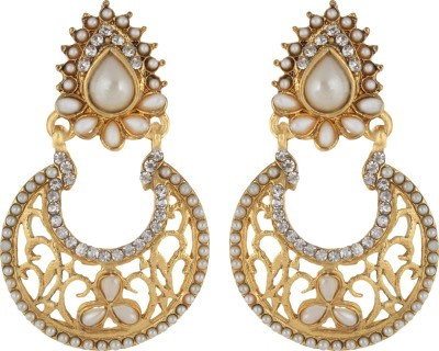 Rich Club Traditional Pearl Alloy Chandelier Earring
