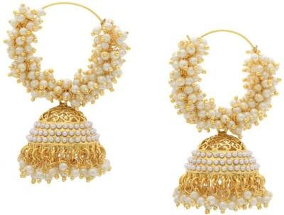 Jewel Shine phoop01 Alloy Hoop Earring