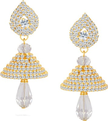 ShoStopper Fabulous Australian Diamond Alloy Jhumki Earring