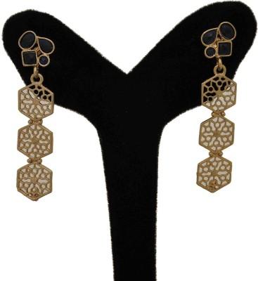 Arohi Jewells & Gems AJG76 Copper Drop Earring