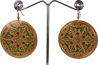 Angelfish round turkish vintage luxury Alloy Dangle Earring