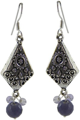 Saffron Craft Silver Collections Alloy Drop Earring