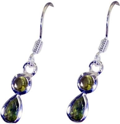 Riyo Nicestar Peridot Peridot Sterling Silver Dangle Earring