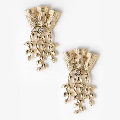 Zahra Jani ZJ Creepers Earrings Brass Earring Set