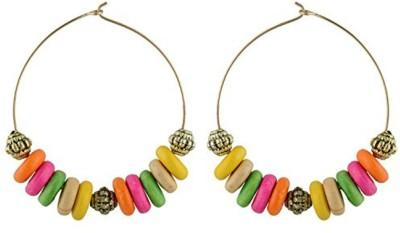 TrinketsANDTreasures Sparkle Wood Dangle Earring