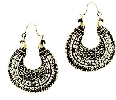 Fashion Era Beautiful Flower Alloy Chandbali Earring