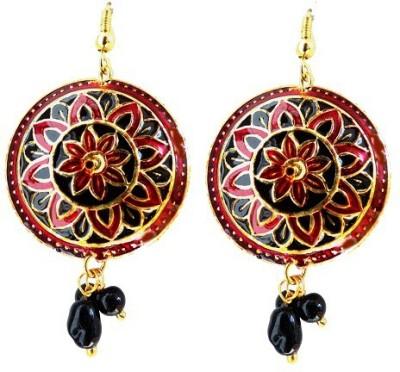 Kalaplanet Thewa Design Alloy Dangle Earring