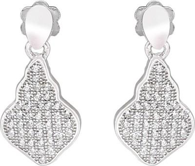 Vummidi Bangaru Chetty & Sons ETIQUE Sterling Silver Drop Earring