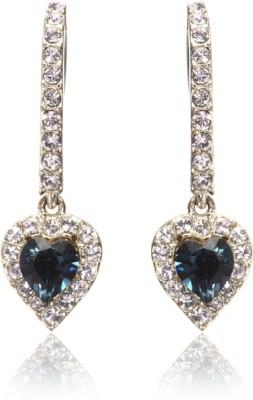 Eclat 713137RM Swarovski Crystal Alloy, Brass Drop Earring