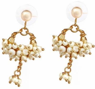Nisa Pearls Mother of Pearl Dangle Earring
