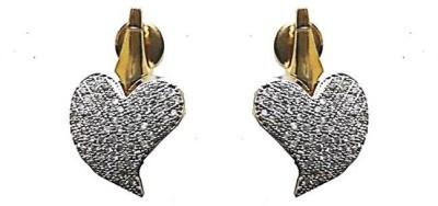 Uzuri Classy Copper Stud Earring