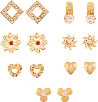Touchstone Princess Delight Alloy Earring Set