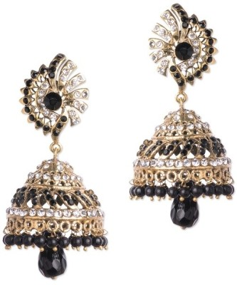 Buy Clues Modern Designer Brass Jhumki Earring