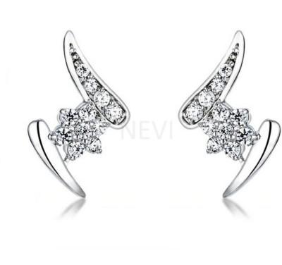 Nevi Z Swarovski Crystal, Crystal Alloy, Crystal Stud Earring