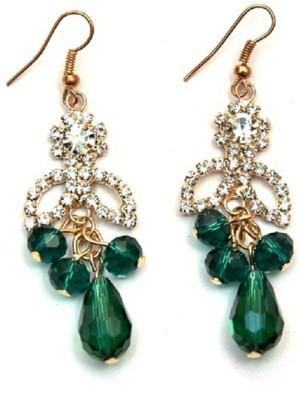 Jodhpuriyas SPARKLING-EAR-311 Alloy Drop Earring
