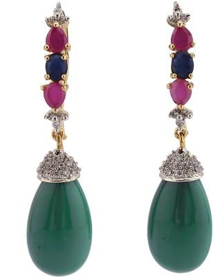 Madhuba Collection Fashion Brass Drop Earring